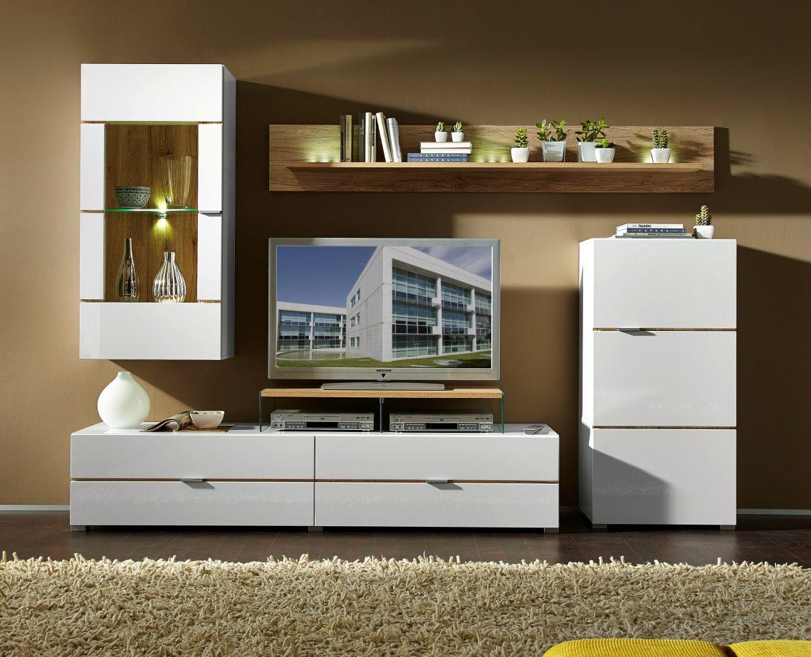 feodora wohnwand anbauwand ii g nstig liefern lassen sch ne m bel online kaufen. Black Bedroom Furniture Sets. Home Design Ideas