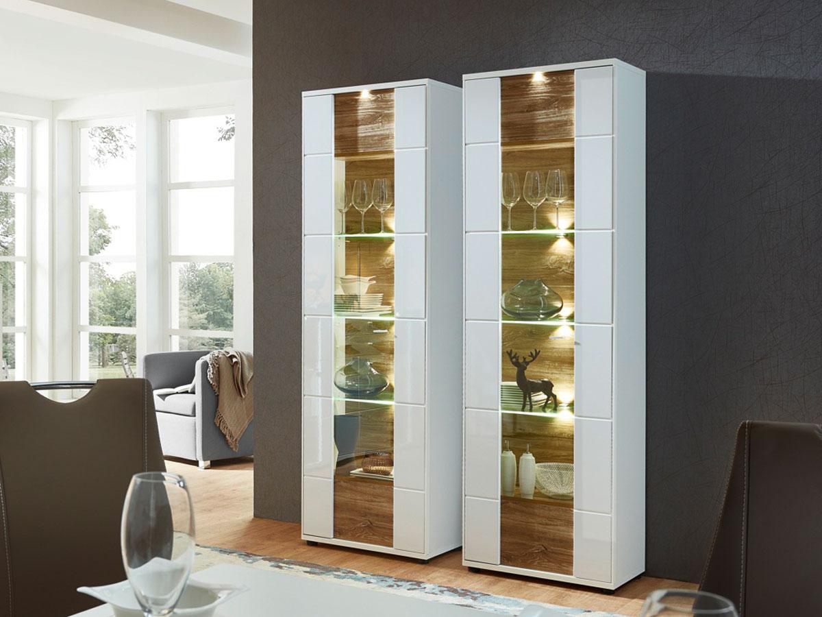 vitrine weiss g nstig kaufen. Black Bedroom Furniture Sets. Home Design Ideas