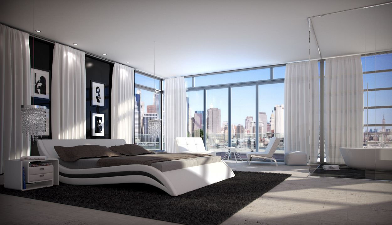 Schlafzimmer Betten Lederbetten - B2B-Trade