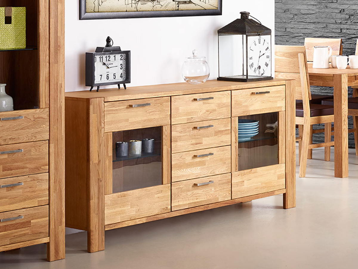 rusty sideboard eiche ge lt teilmassiv. Black Bedroom Furniture Sets. Home Design Ideas