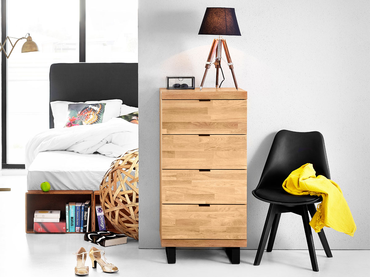kommoden eiche g nstig kaufen. Black Bedroom Furniture Sets. Home Design Ideas