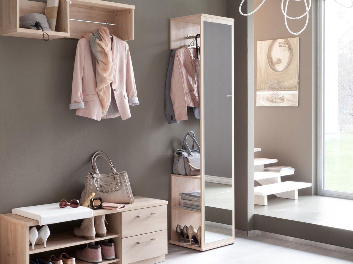 kompakt garderobe g nstig kaufen. Black Bedroom Furniture Sets. Home Design Ideas