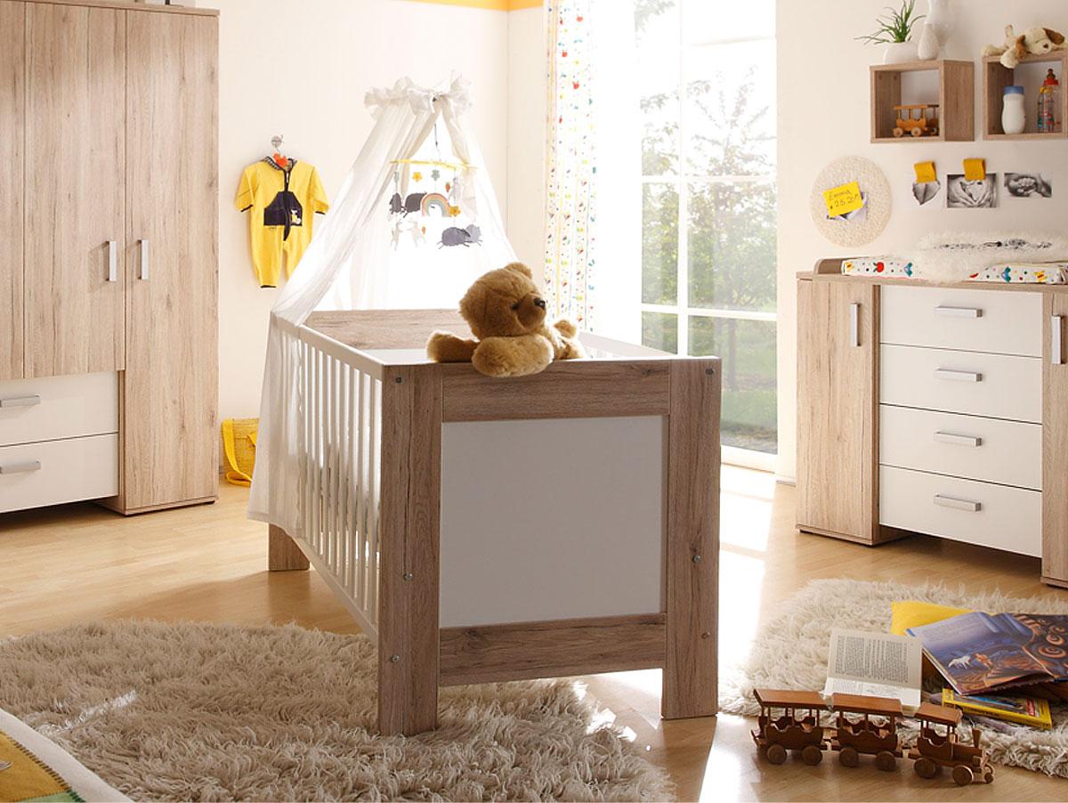 babybett komplett g nstig kaufen. Black Bedroom Furniture Sets. Home Design Ideas