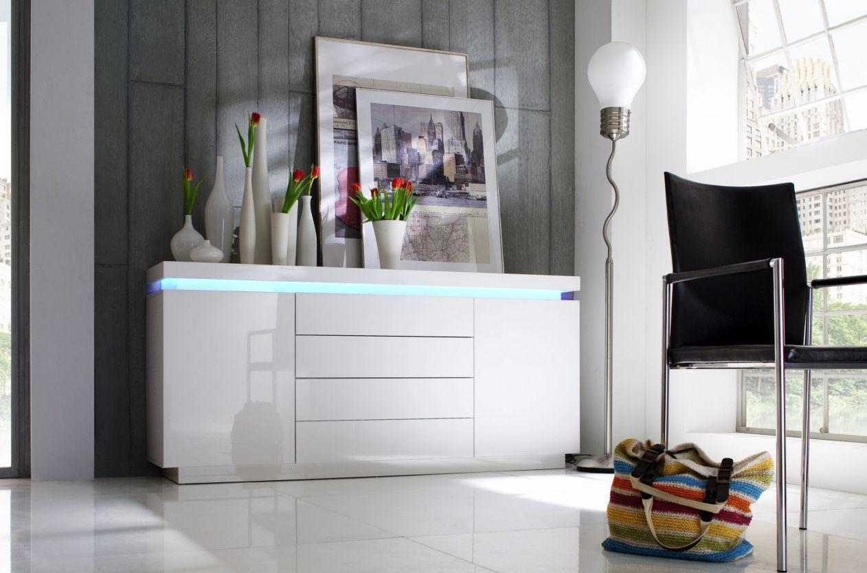 sideboard hochglanz g nstig kaufen. Black Bedroom Furniture Sets. Home Design Ideas