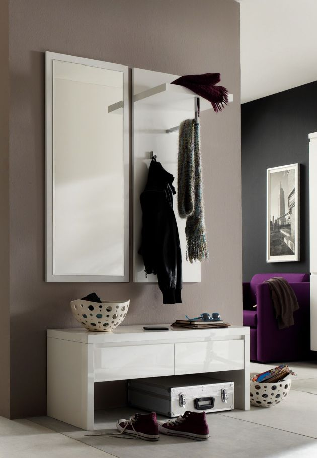 garderobe mit sitzbank online kaufen. Black Bedroom Furniture Sets. Home Design Ideas