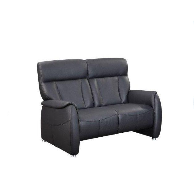 taavi relaxer 2 er sofa echtleder schwarz 2 sitzer. Black Bedroom Furniture Sets. Home Design Ideas