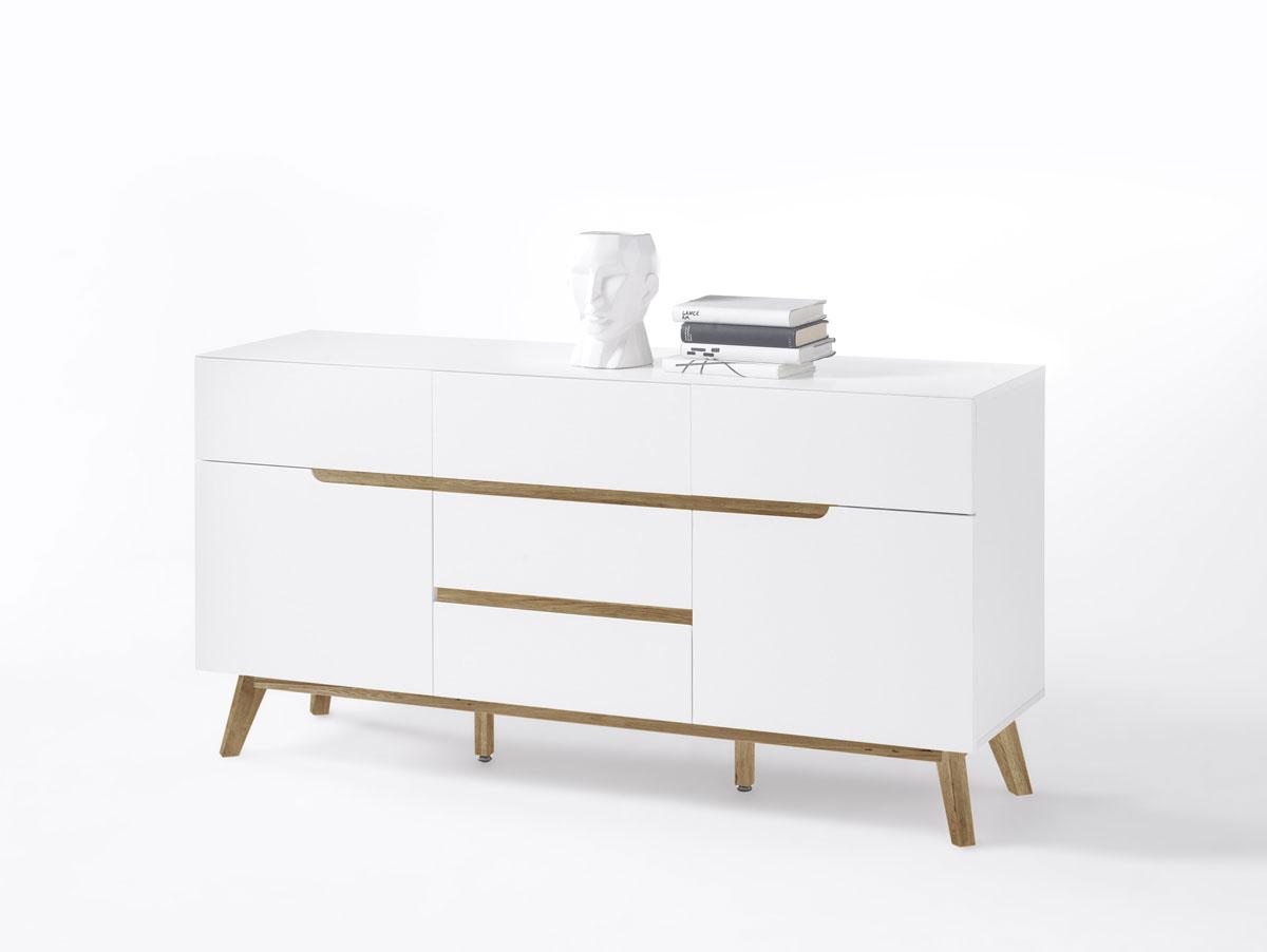 cava ii kommode matt wei eichefarbig. Black Bedroom Furniture Sets. Home Design Ideas