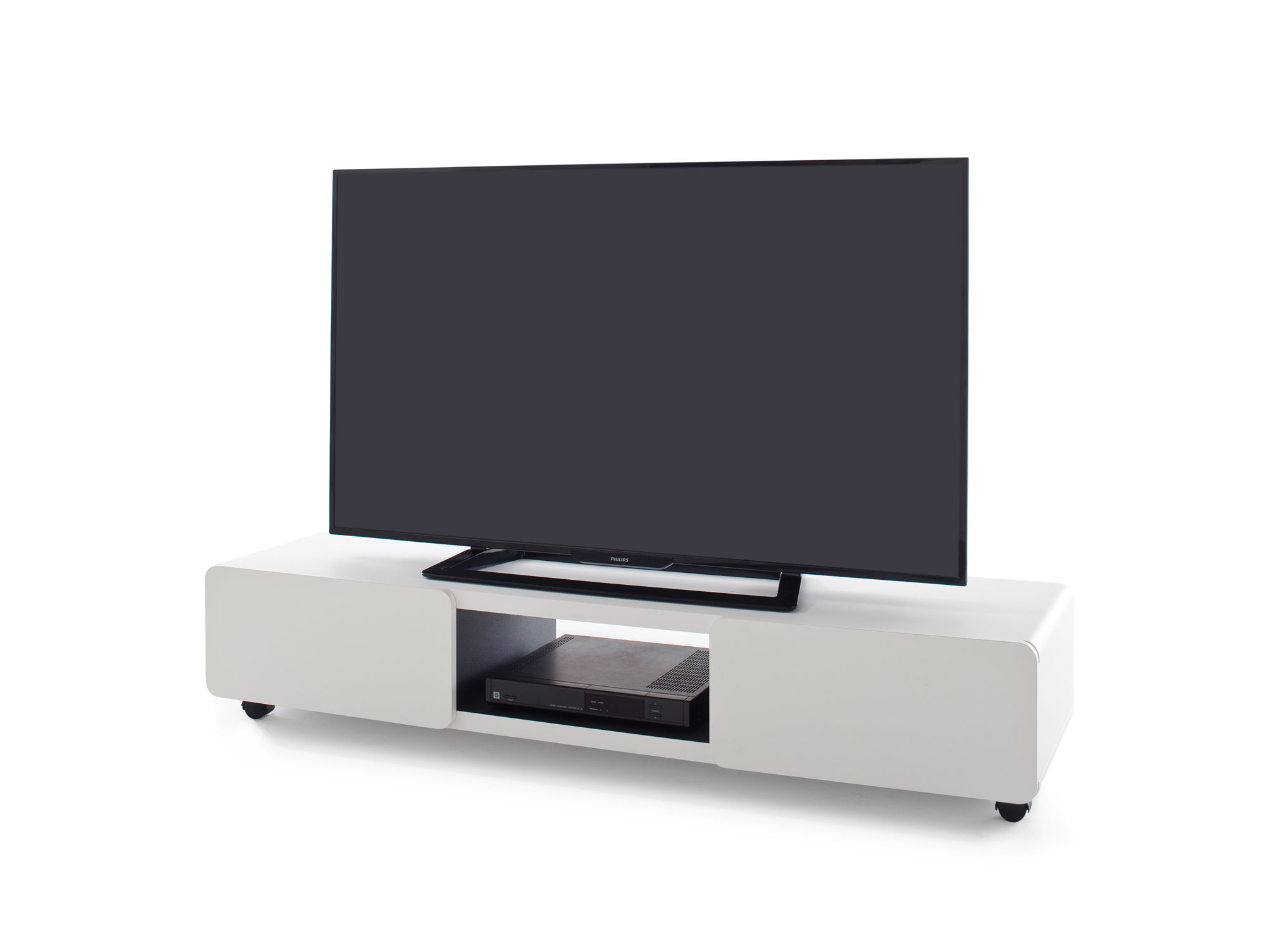 jaap tv lowboard 140 wei. Black Bedroom Furniture Sets. Home Design Ideas