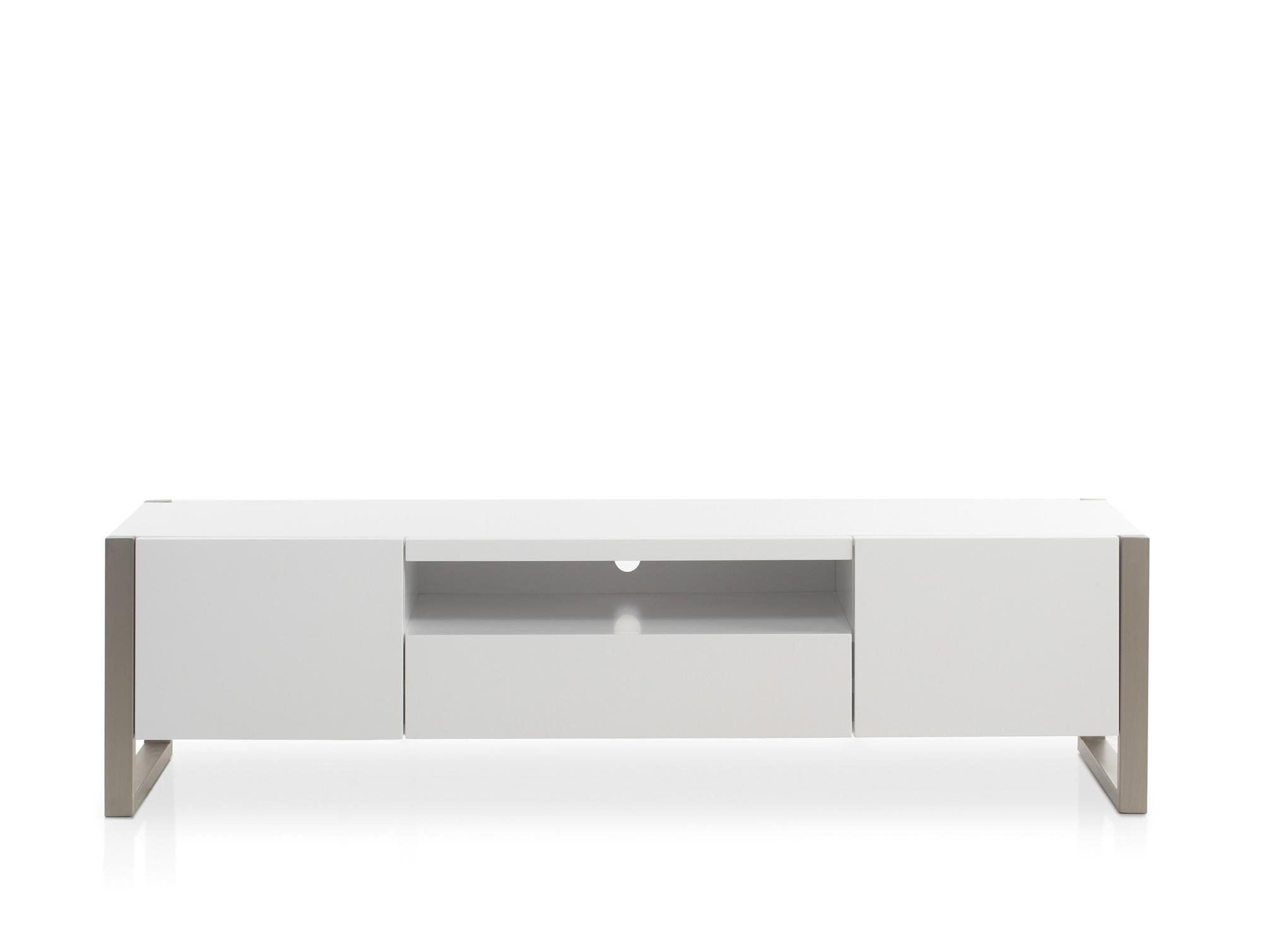 agathe lowboard wei matt. Black Bedroom Furniture Sets. Home Design Ideas