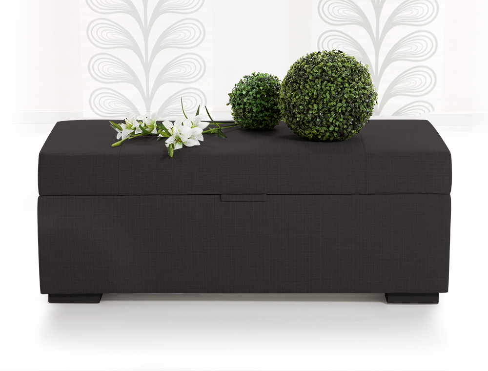 luxus w schetruhe w schekommode webstoff anthrazit. Black Bedroom Furniture Sets. Home Design Ideas