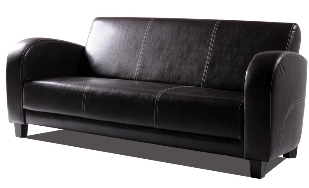 anto sofa 3 sitzer antikbraun f sse nussbaumfarben. Black Bedroom Furniture Sets. Home Design Ideas