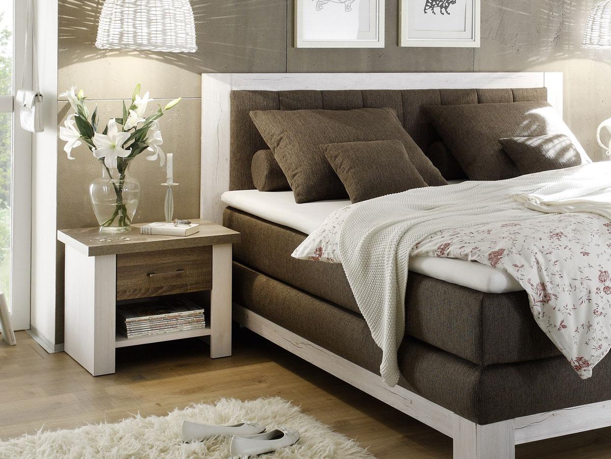 lucy nachtkommode pinie wei tr ffel. Black Bedroom Furniture Sets. Home Design Ideas