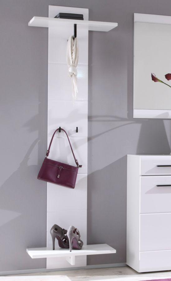 deon garderobenpaneel paneel wei mdf hochglanz fronten. Black Bedroom Furniture Sets. Home Design Ideas