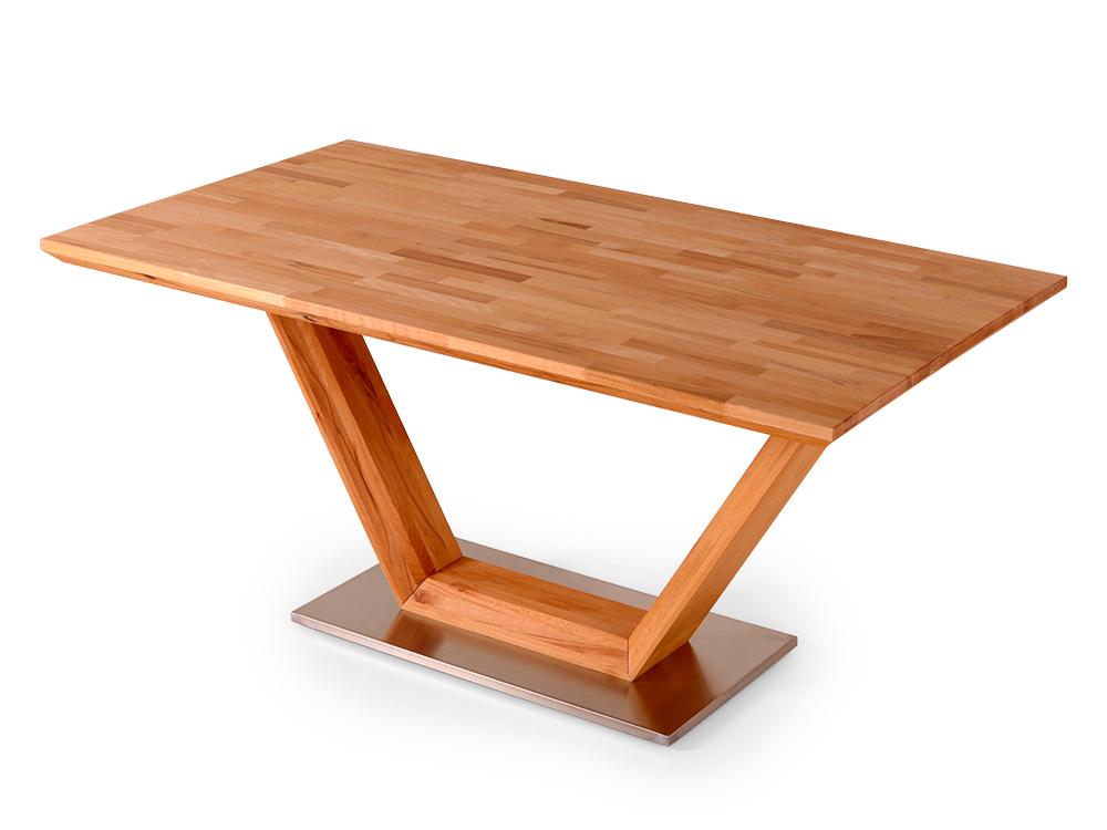guru esstischgruppe akazie stone esstisch 160x90 mit. Black Bedroom Furniture Sets. Home Design Ideas