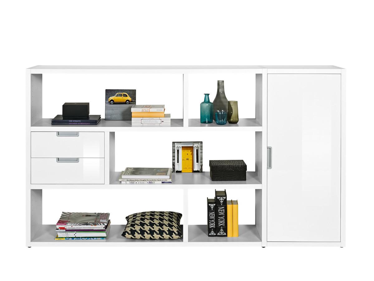 raumteiler weiss hochglanz g nstig kaufen. Black Bedroom Furniture Sets. Home Design Ideas