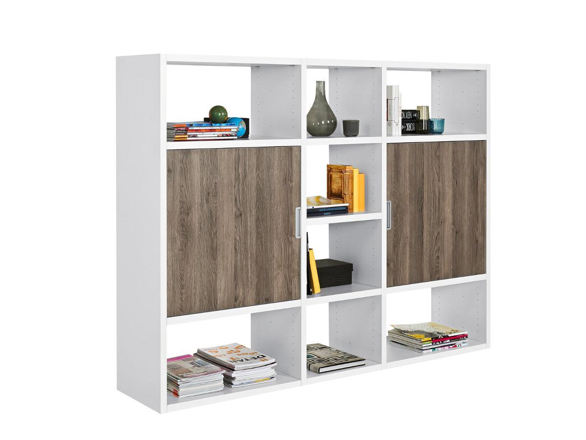 regal eiche dunkel g nstig kaufen. Black Bedroom Furniture Sets. Home Design Ideas