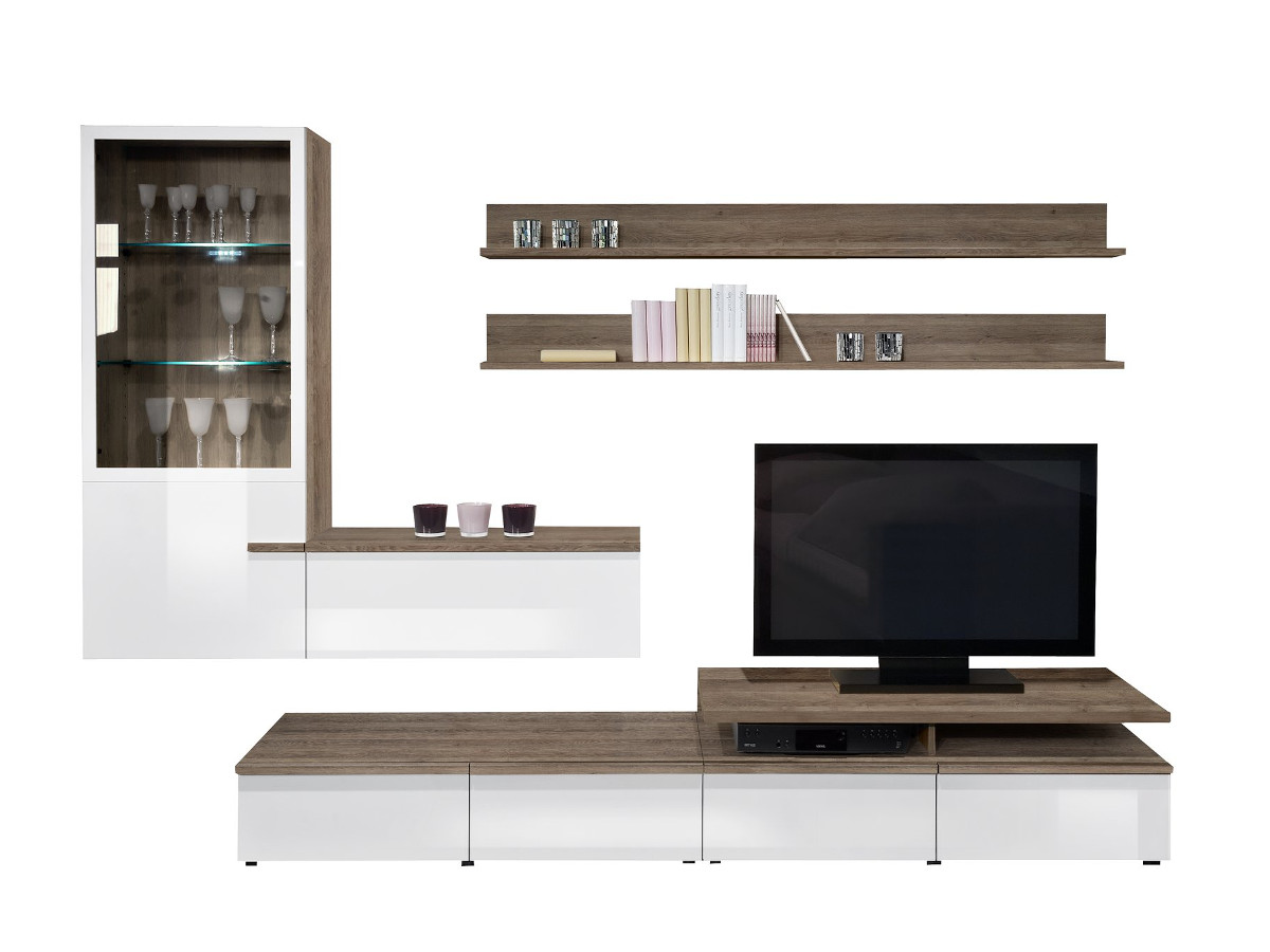 arte m linea w wohnwand ii online g nstig. Black Bedroom Furniture Sets. Home Design Ideas