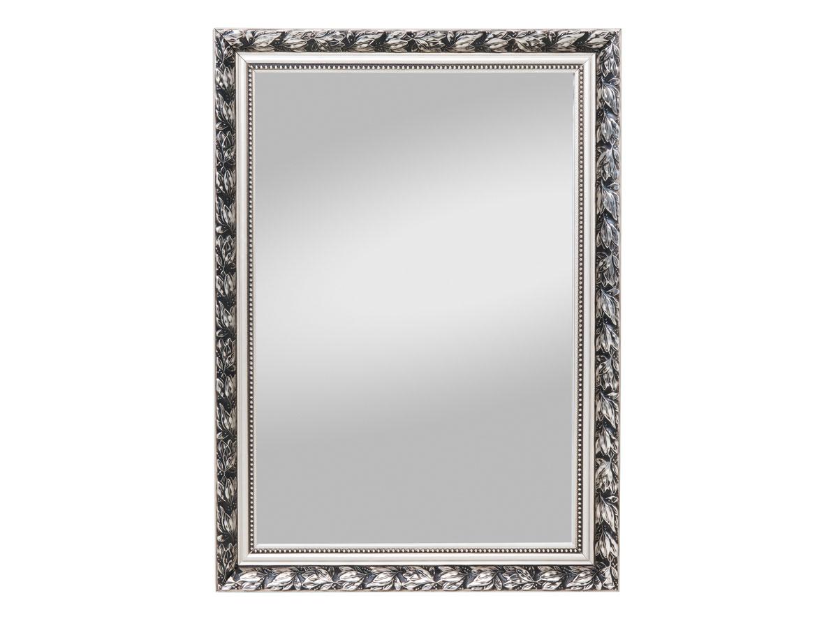 piu spiegel spiegel mit holzrahmen 55 x 70 cm silber. Black Bedroom Furniture Sets. Home Design Ideas
