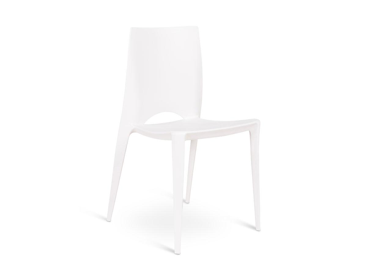 denisa stapelstuhl kunststoffstuhl weiss. Black Bedroom Furniture Sets. Home Design Ideas