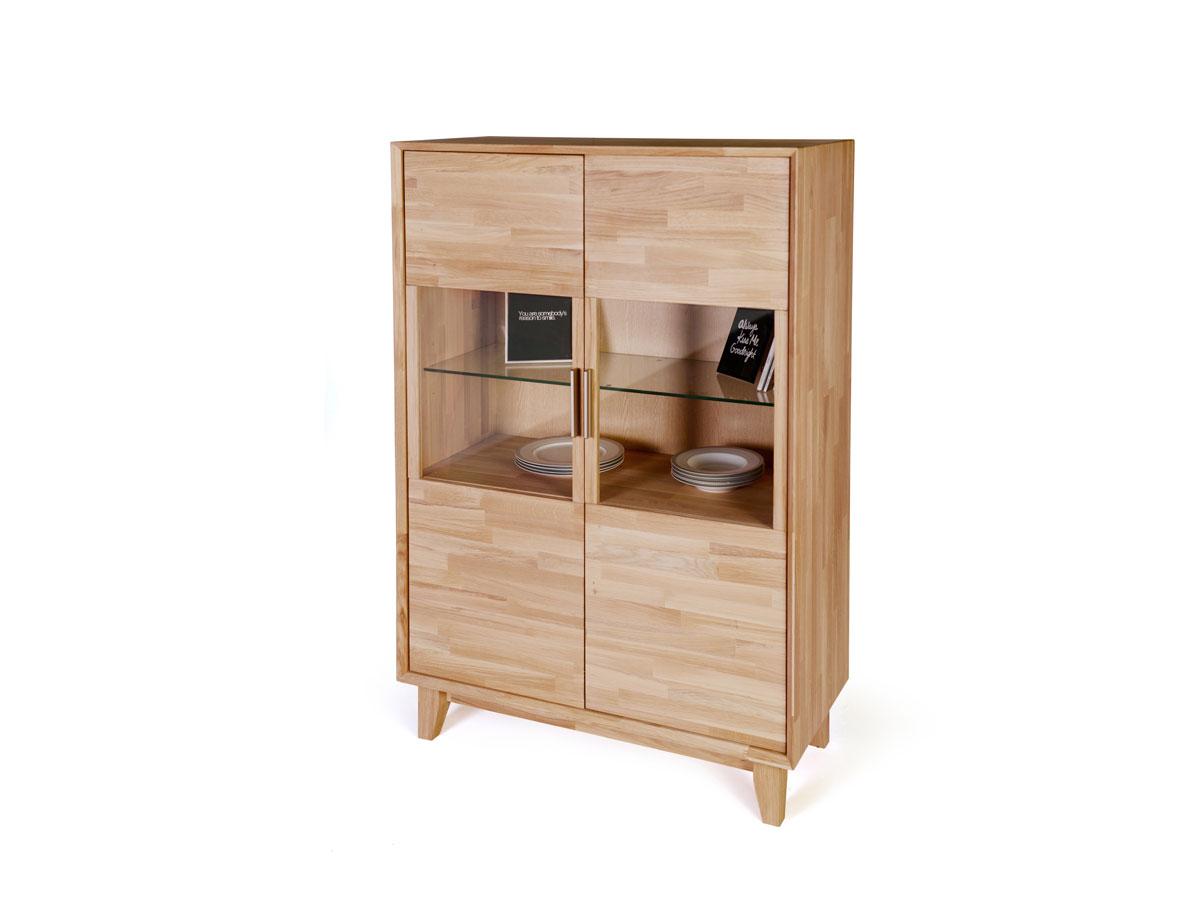 nepal vitrine 2 t rig ge lt eiche. Black Bedroom Furniture Sets. Home Design Ideas