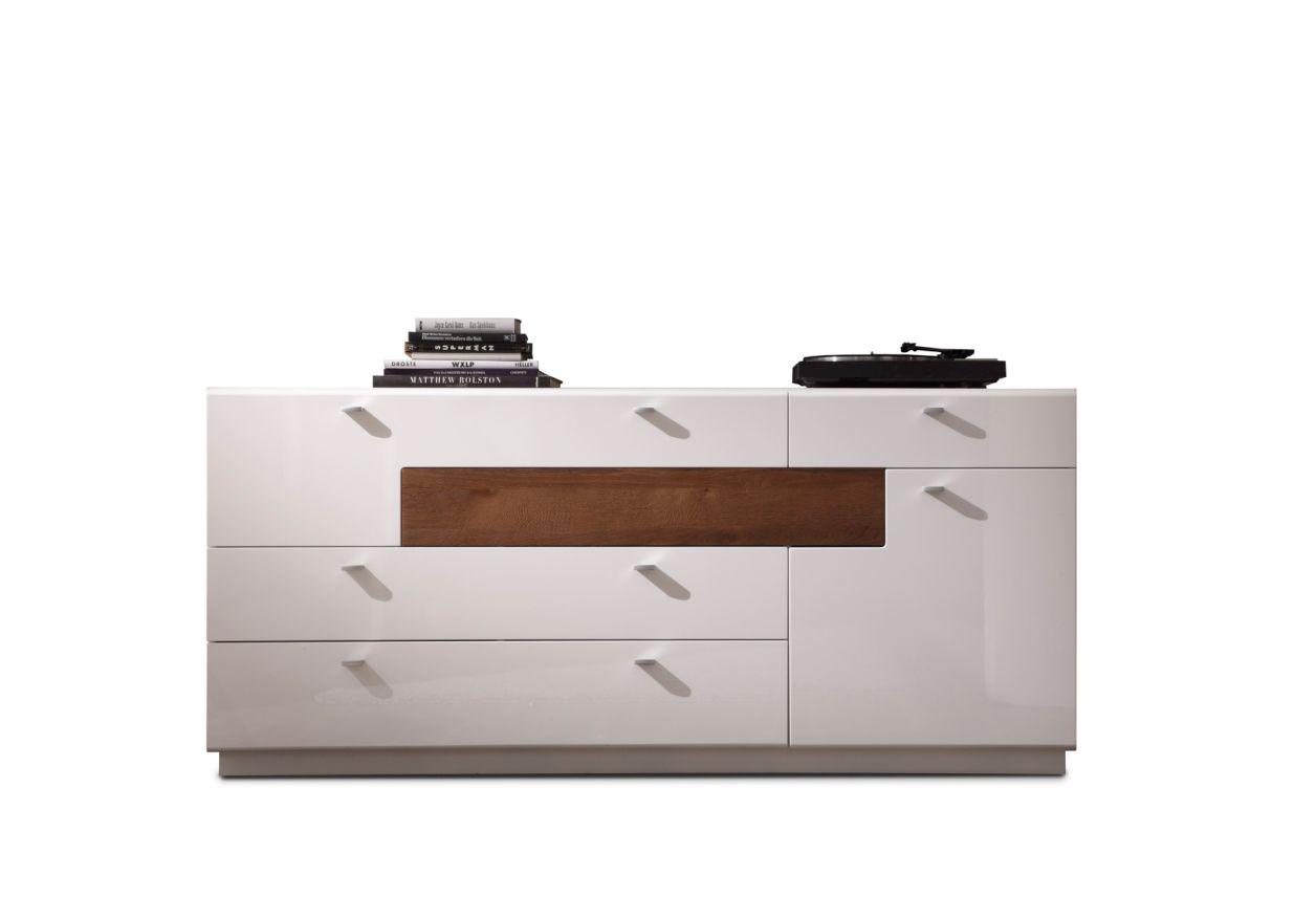 sideboard weiss hochglanz g nstig kaufen. Black Bedroom Furniture Sets. Home Design Ideas