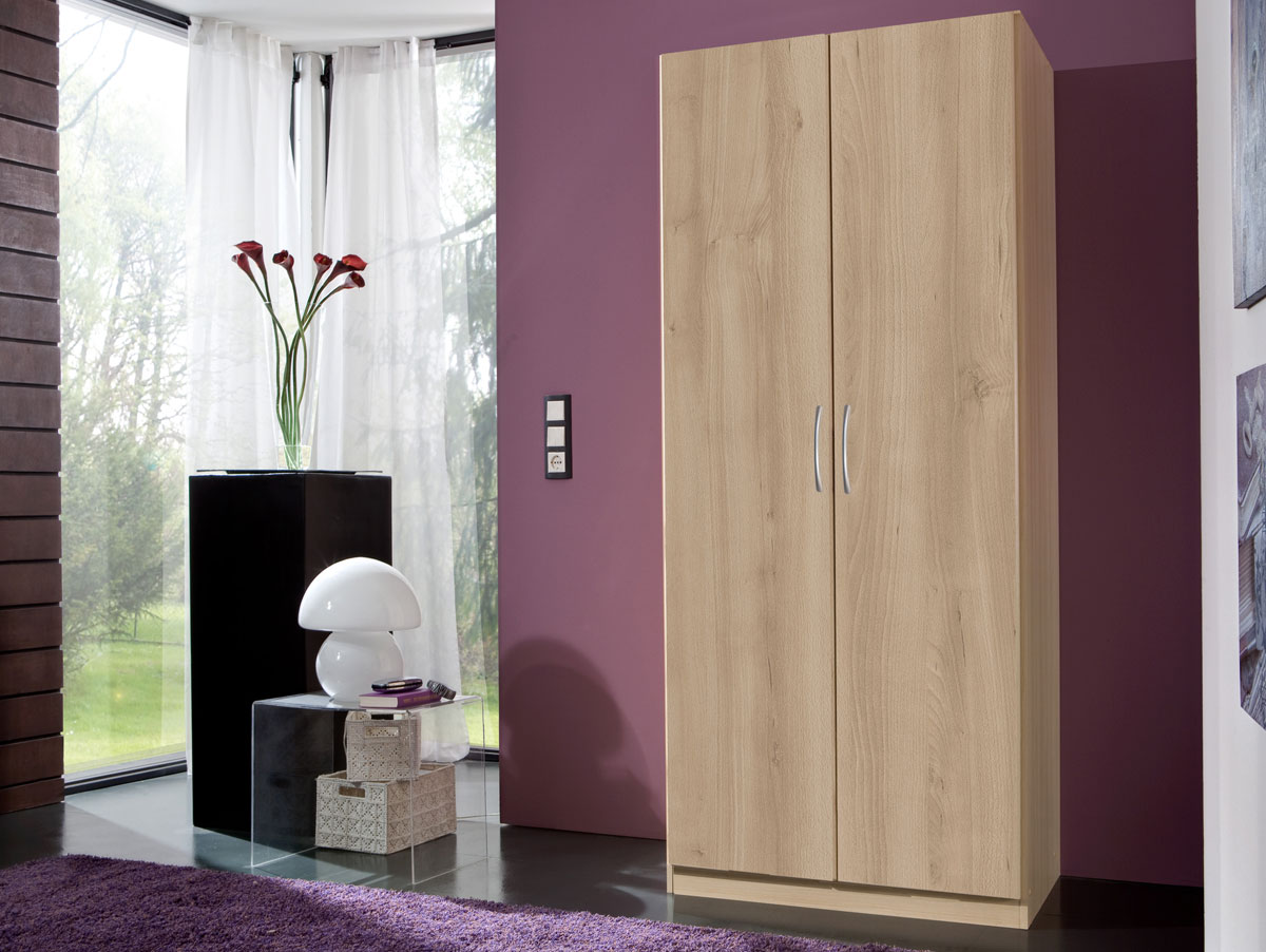 swing kleiderschrank 2 t rig h175 edelbuche. Black Bedroom Furniture Sets. Home Design Ideas