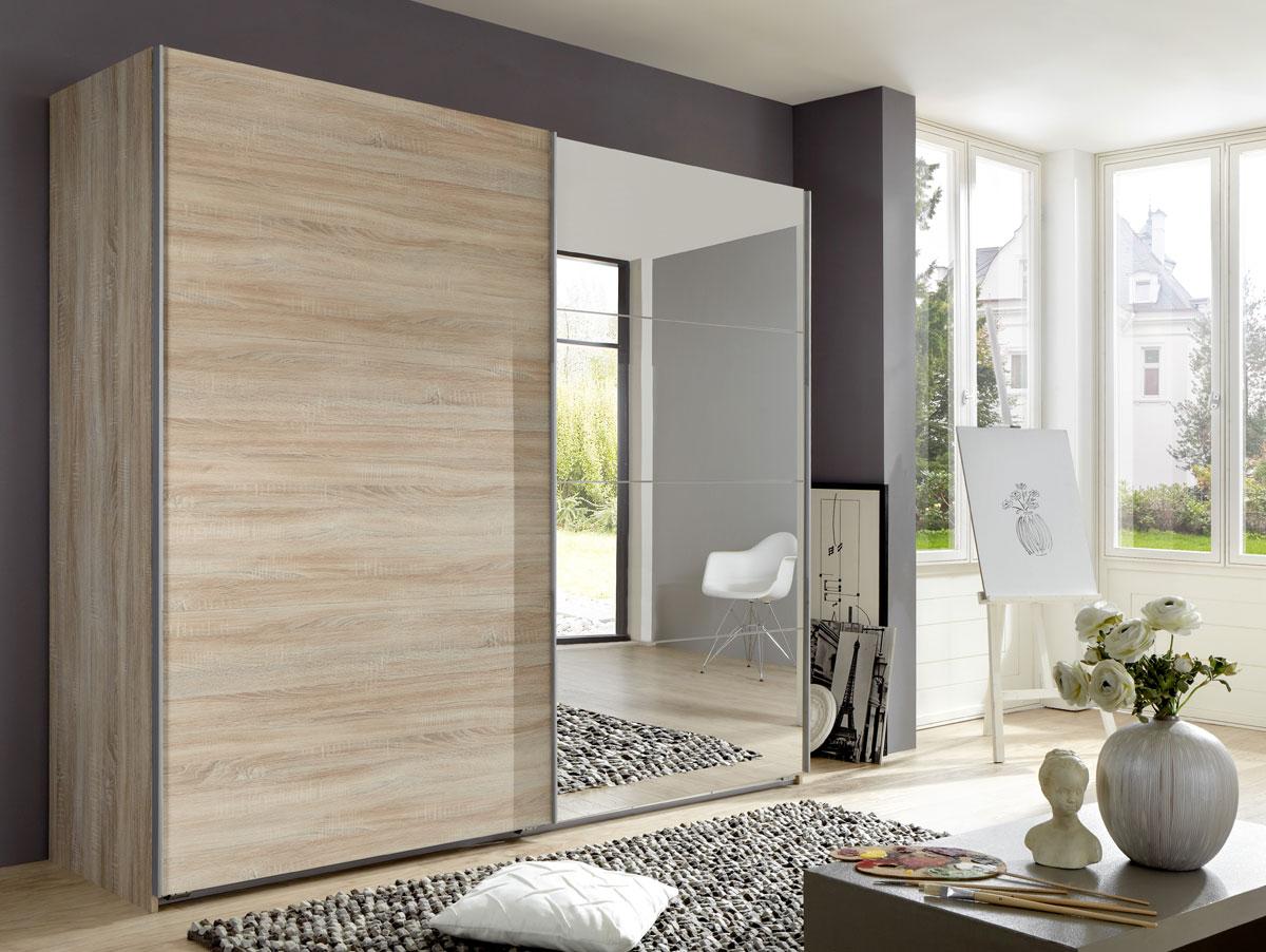 elliot schwebet renschrank 225 cm eiche s gerau. Black Bedroom Furniture Sets. Home Design Ideas