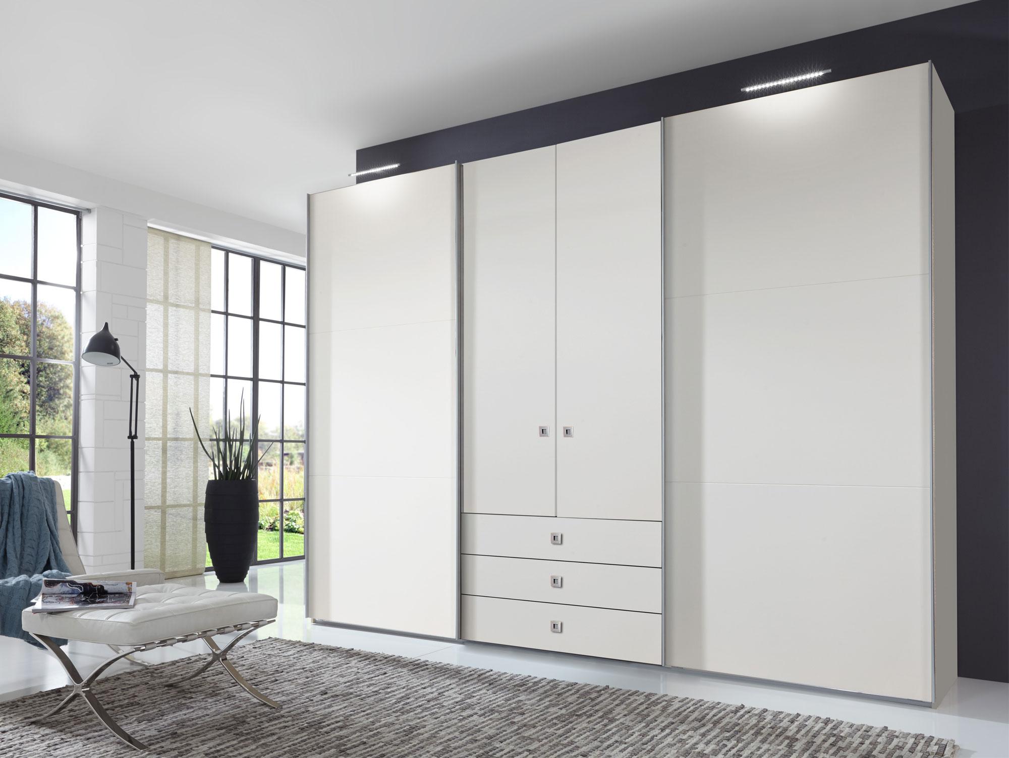 toledo kleiderschrank schwebe dreht renschrank weiss ohne spiegel. Black Bedroom Furniture Sets. Home Design Ideas