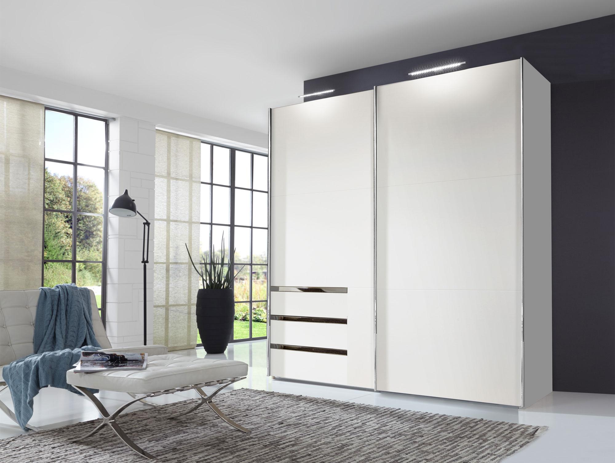 lakota schwebet renschrank weiss 200 cm 216 cm ohne spiegel. Black Bedroom Furniture Sets. Home Design Ideas