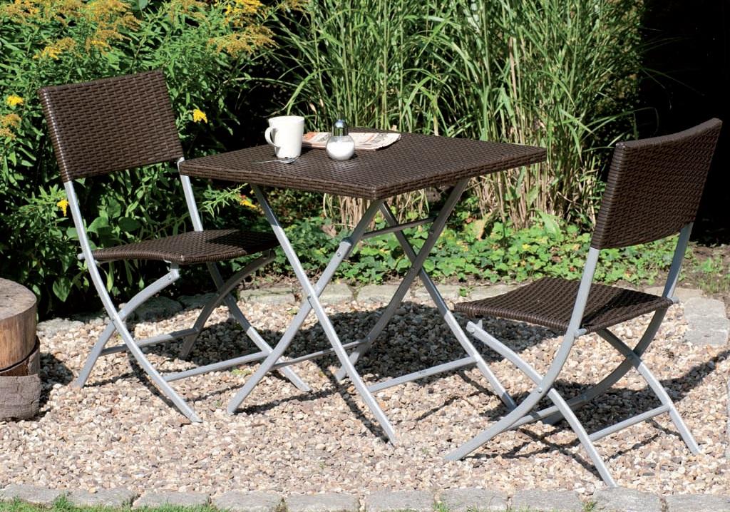 balkon set mirador 3 tlg grau von roller ean. Black Bedroom Furniture Sets. Home Design Ideas