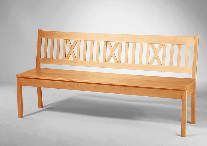 ludwig bankteil mit truhe sitzbank buche lackiert 180 cm. Black Bedroom Furniture Sets. Home Design Ideas