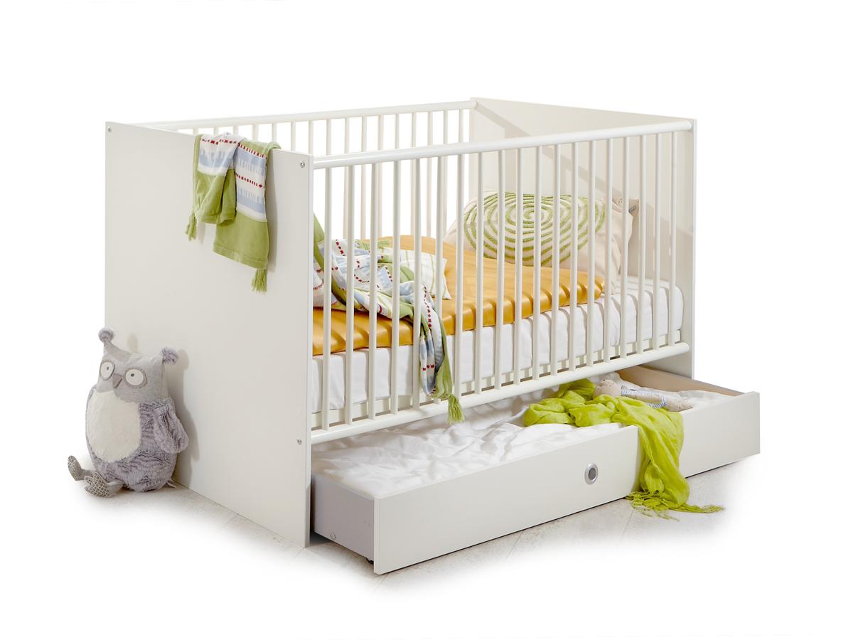 becca babybett weiss. Black Bedroom Furniture Sets. Home Design Ideas