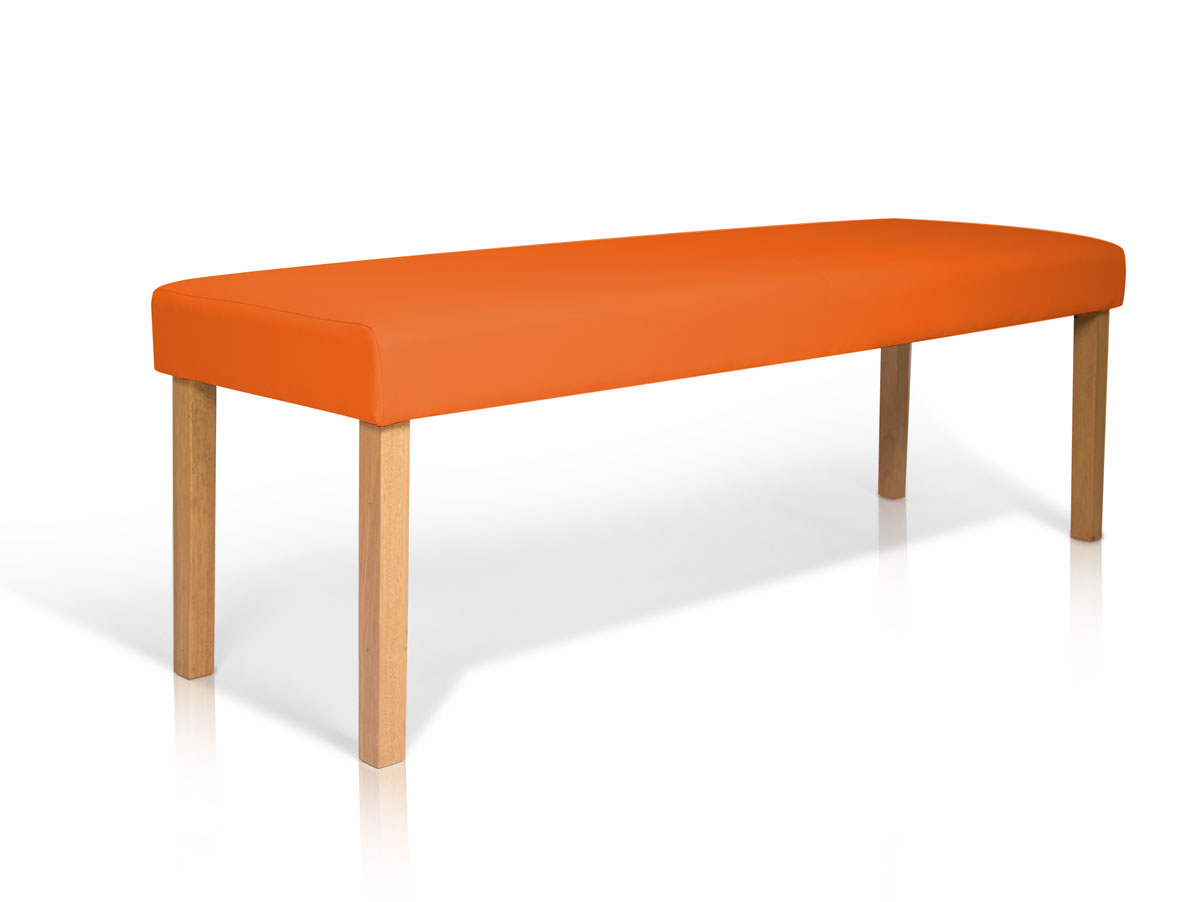 bill sitzbank kunstleder orange 140 cm. Black Bedroom Furniture Sets. Home Design Ideas