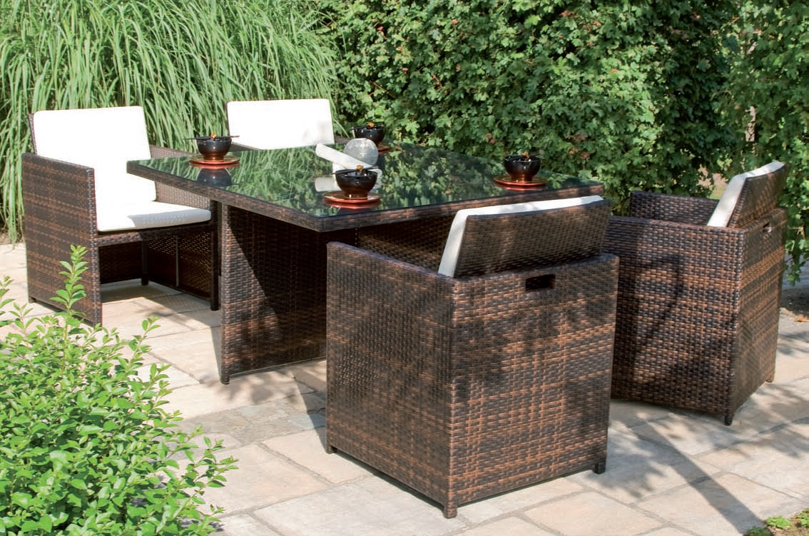 gartenm bel merxx lounge set san marino aus polyrattan 7 teilig pictures to pin on pinterest. Black Bedroom Furniture Sets. Home Design Ideas