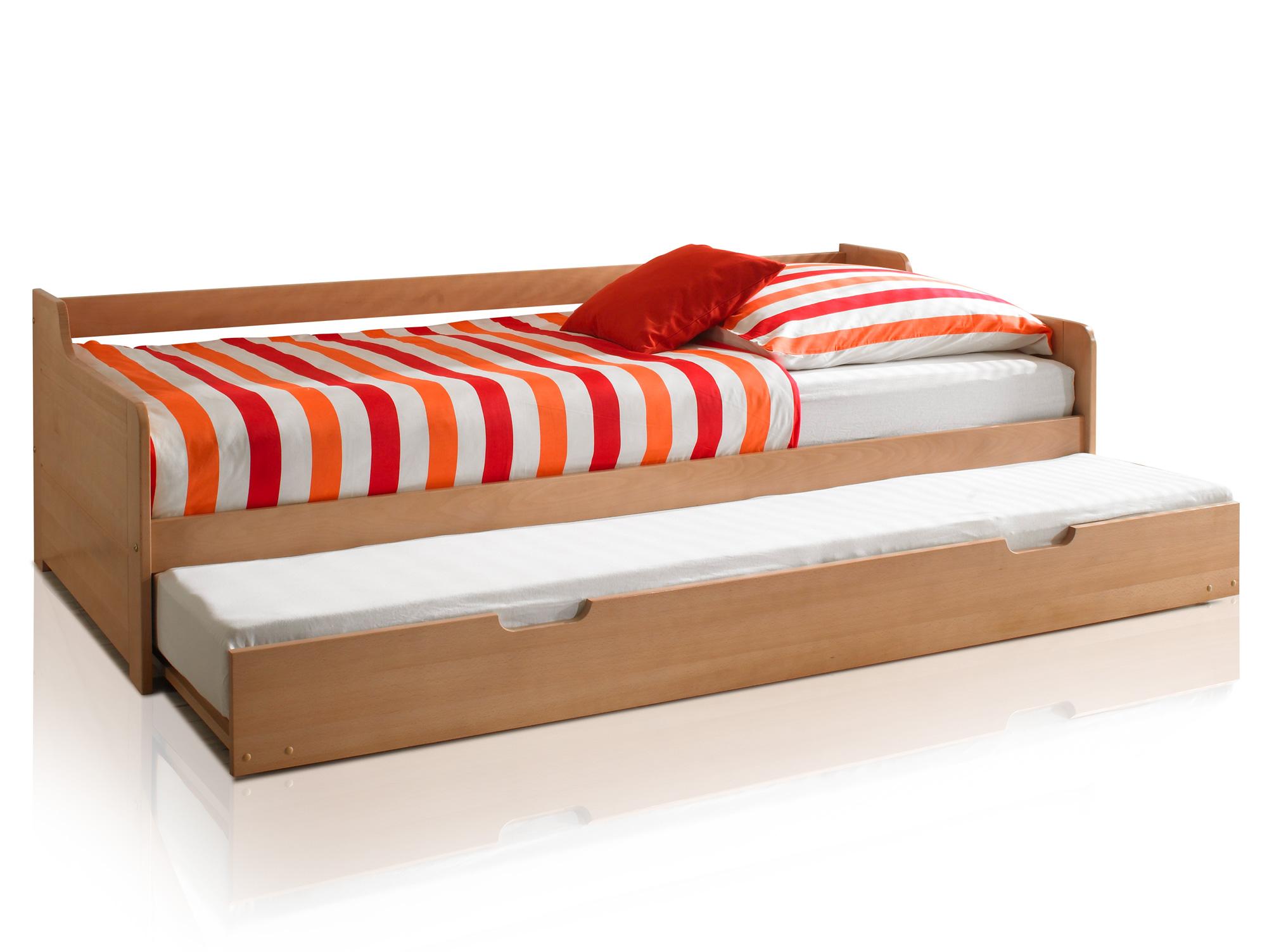 bobby tandemliege funktionsbett buche natur massiv. Black Bedroom Furniture Sets. Home Design Ideas