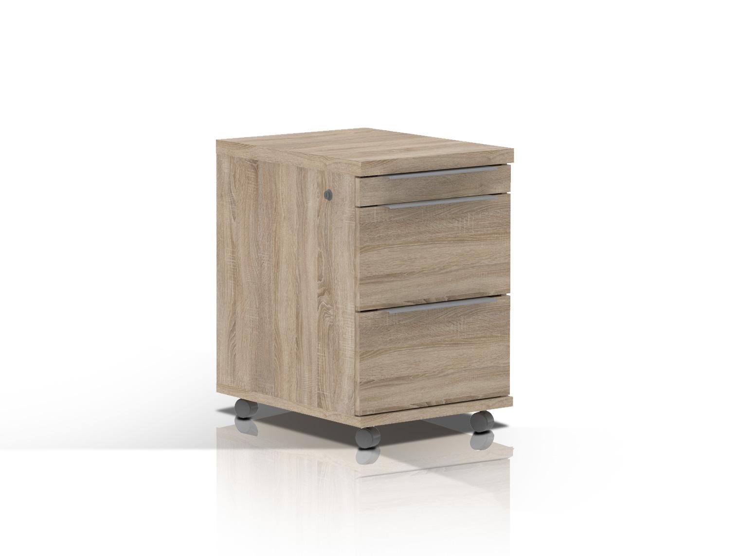 camillo rollcontainer sonoma eiche. Black Bedroom Furniture Sets. Home Design Ideas