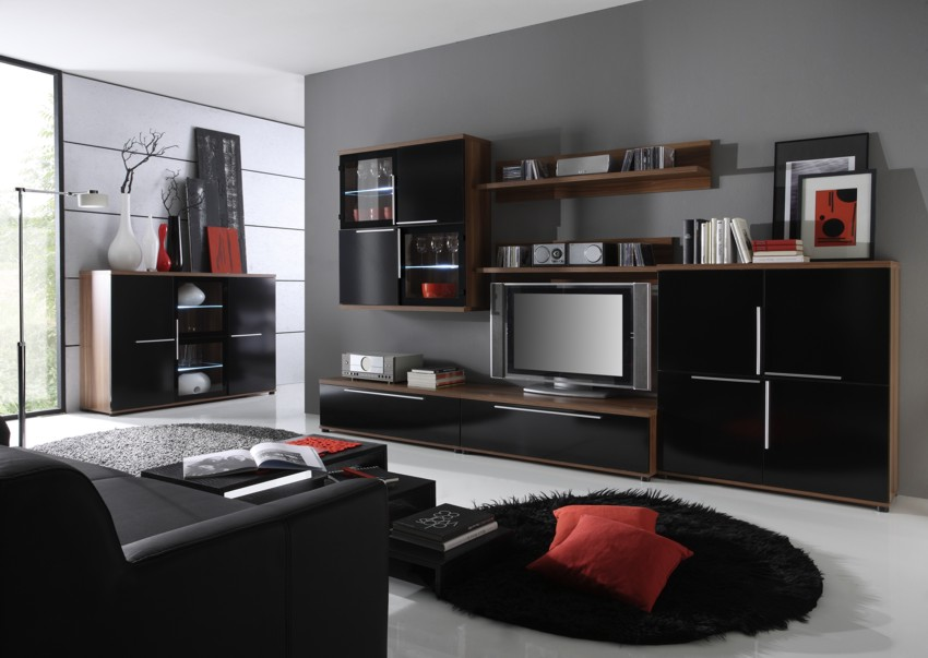 wohnw nde. Black Bedroom Furniture Sets. Home Design Ideas