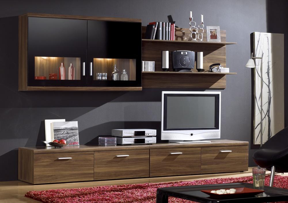 emejing wohnzimmer nussbaum schwarz ideas - house design ideas ... - Wohnzimmer Nussbaum Schwarz