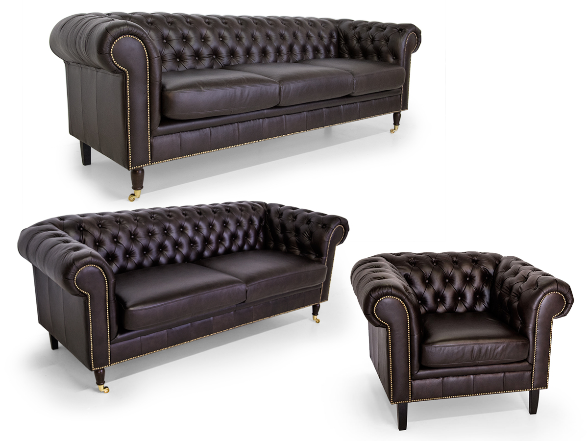 chesterfield wohnlandschaft. Black Bedroom Furniture Sets. Home Design Ideas