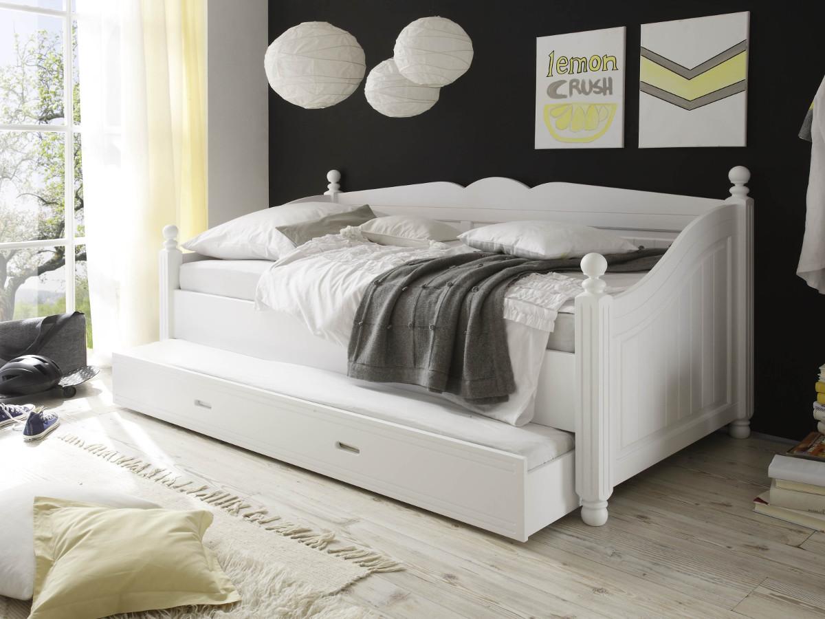 weisses bett 90x200 sonstige preisvergleiche erfahrungsberichte und kauf bei nextag. Black Bedroom Furniture Sets. Home Design Ideas