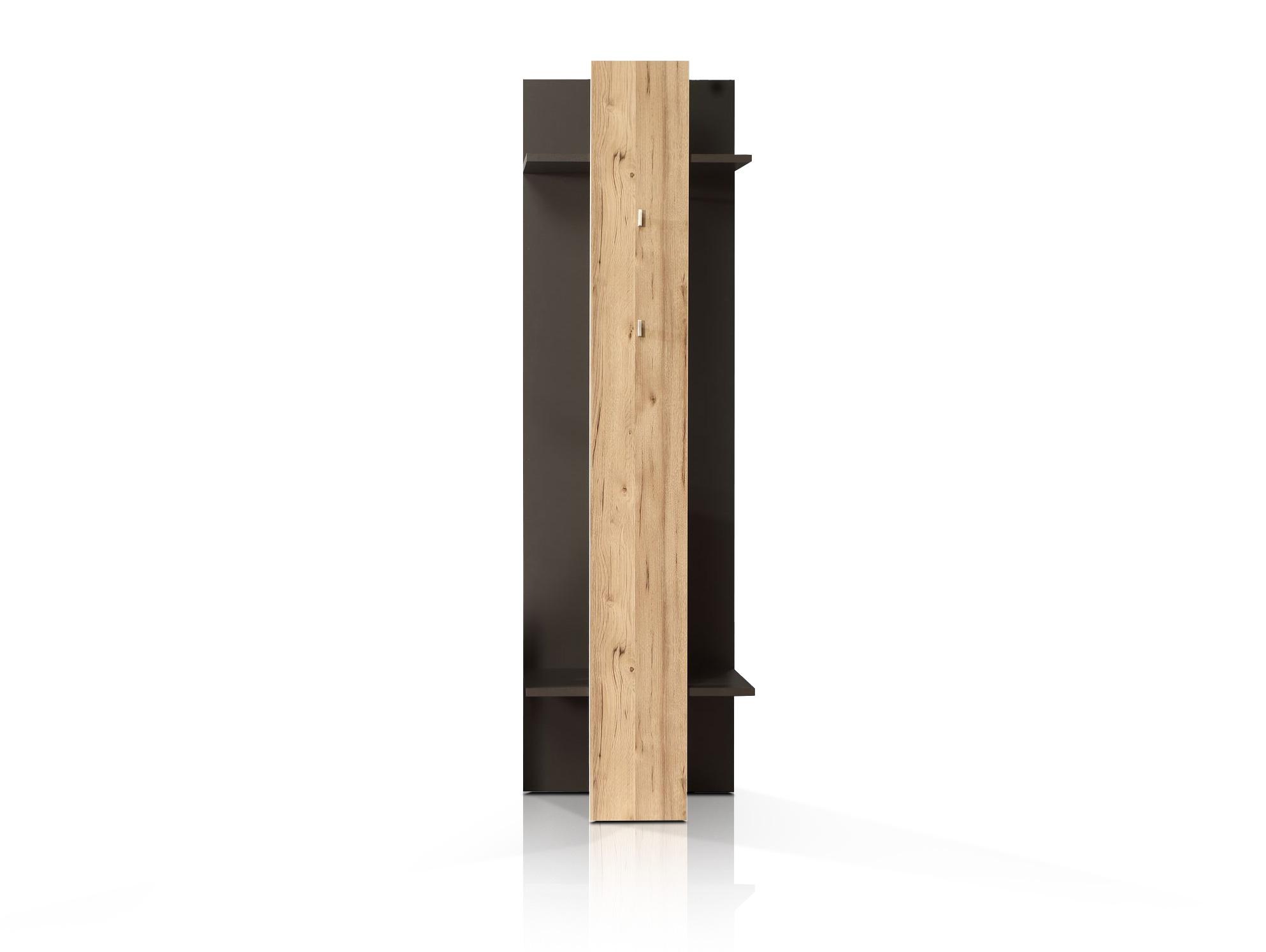 clara garderobenpaneel grau planked eiche
