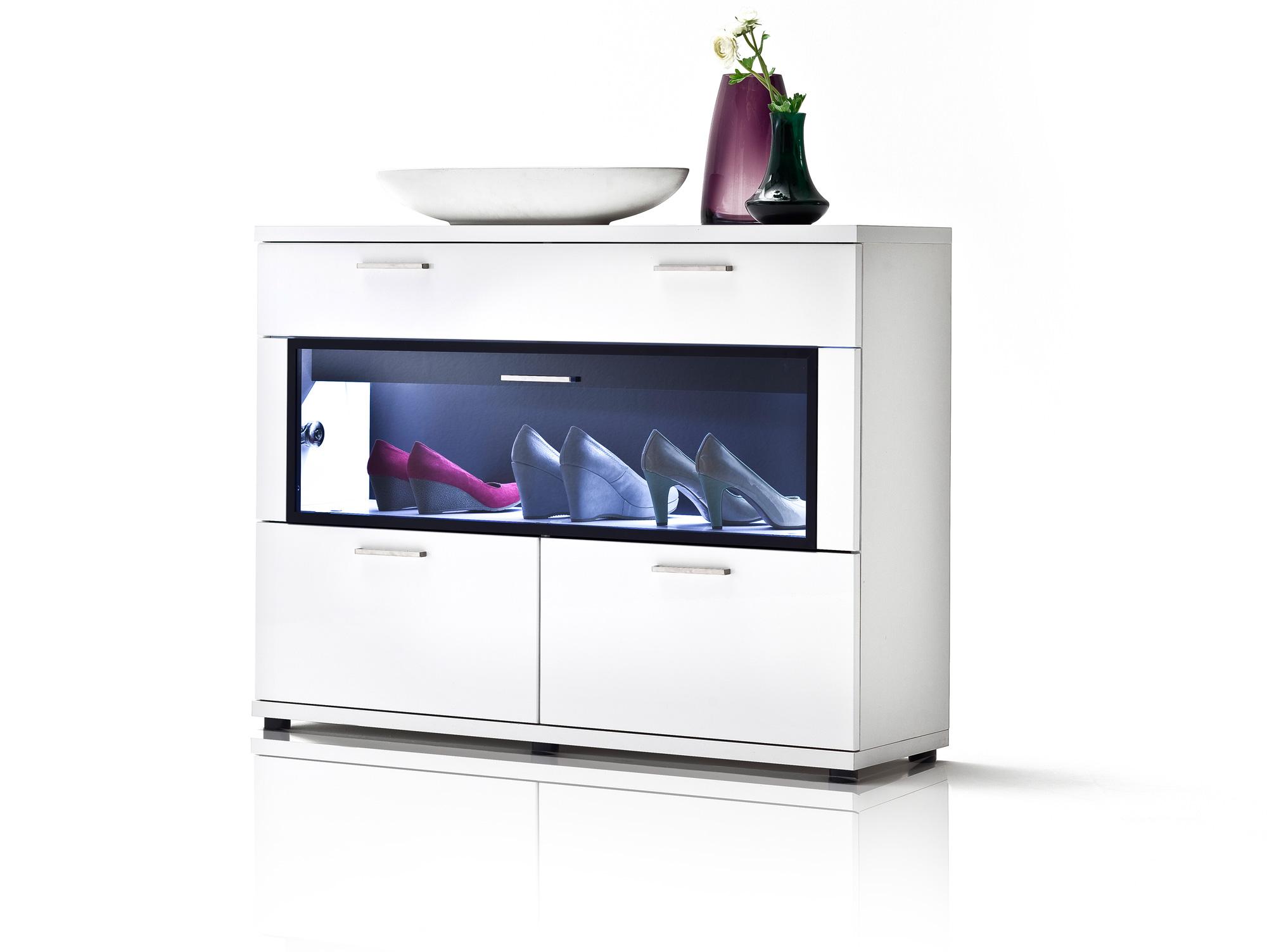 schuhschrank weiss g nstig kaufen. Black Bedroom Furniture Sets. Home Design Ideas