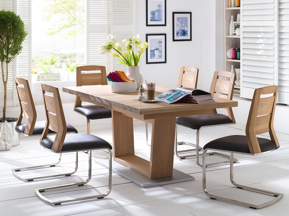 cover esstisch massivholzesstisch rechteckig mit v fu 140 220x90 cm kernbuche ge lt. Black Bedroom Furniture Sets. Home Design Ideas