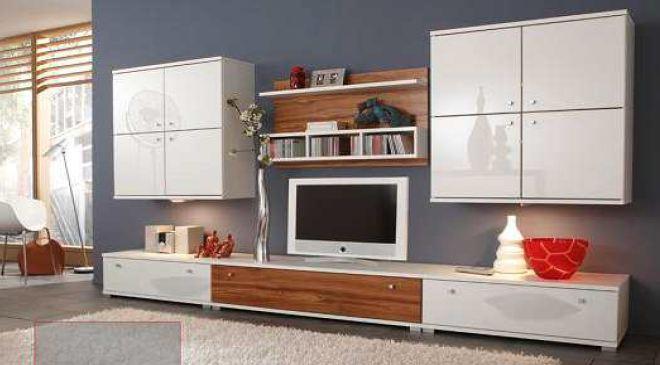 wohnwand hochglanz creme cheap wohnwand anbauwand marke holtkamp hochglanz front cremeweiss. Black Bedroom Furniture Sets. Home Design Ideas