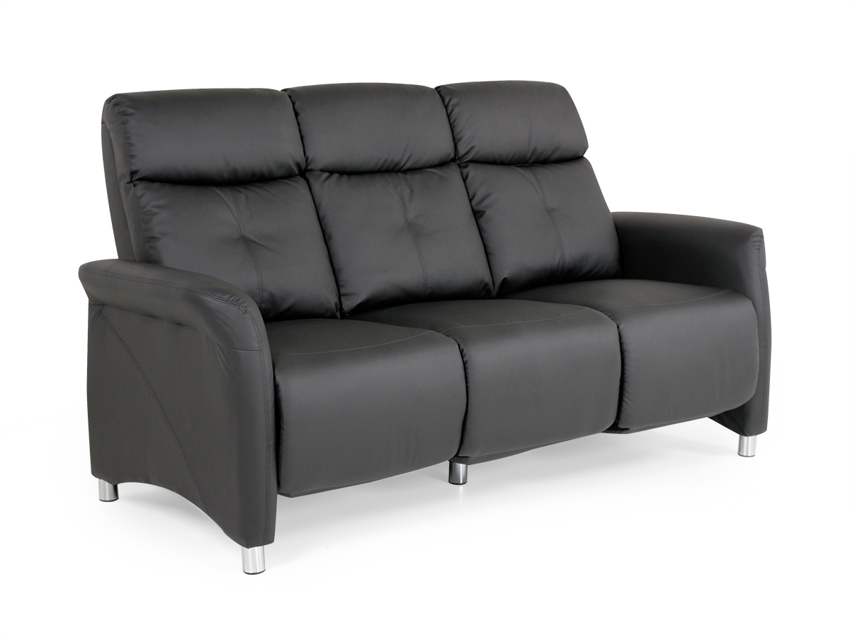 kunstleder sofa schwarz sofa kunstleder schwarz b rostuhl. Black Bedroom Furniture Sets. Home Design Ideas