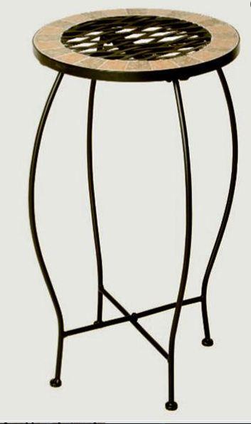 siena garden finca garten blumenst nder eisen mosaik rund. Black Bedroom Furniture Sets. Home Design Ideas
