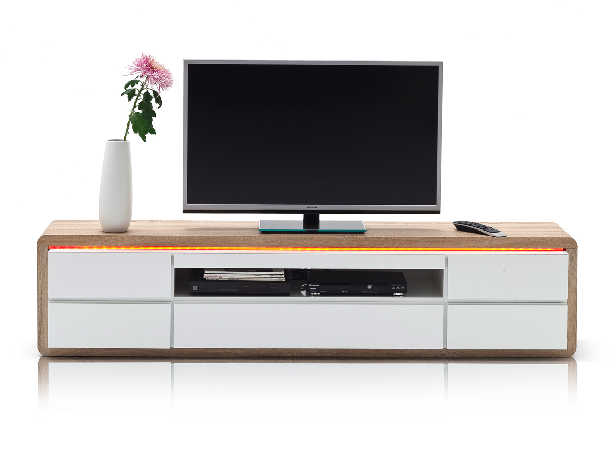 lowboard weiss g nstig kaufen. Black Bedroom Furniture Sets. Home Design Ideas