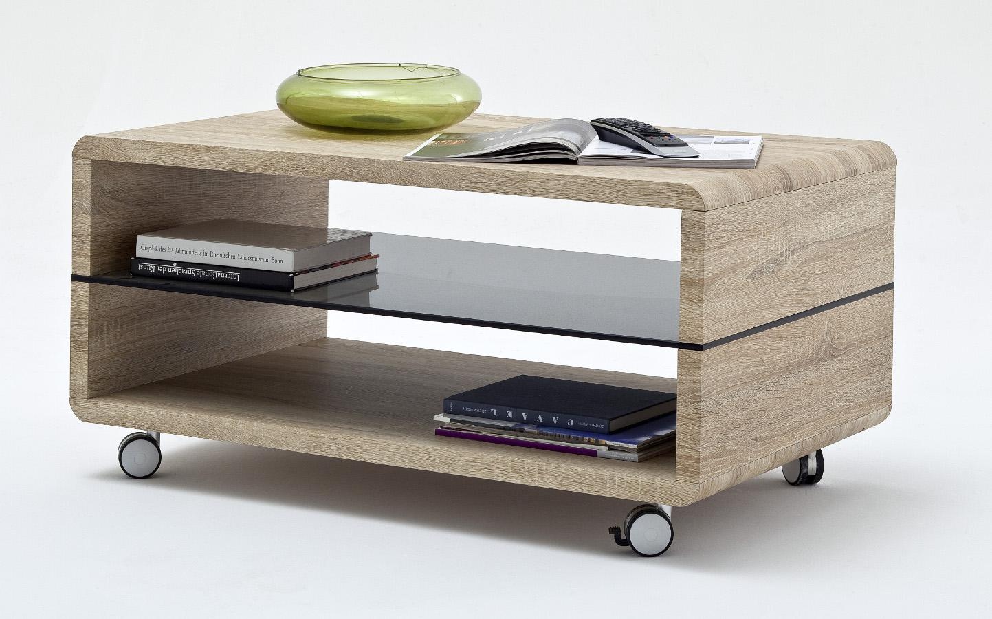 Couch Tisch Holz Auf Rollen Sonstige Preisvergleiche