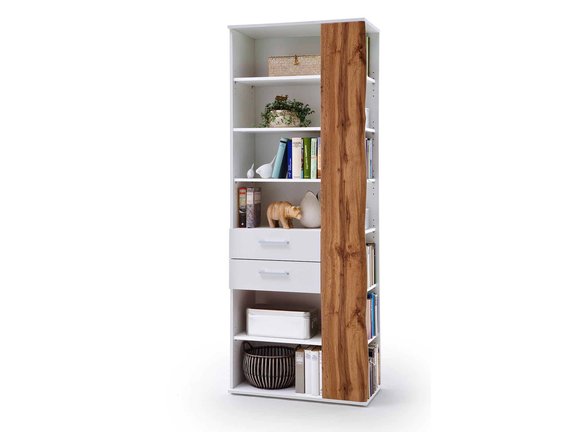 grazia regal weiss hochglanz wotan eiche dekor. Black Bedroom Furniture Sets. Home Design Ideas