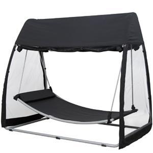 h ngematte mit dach online kaufen. Black Bedroom Furniture Sets. Home Design Ideas